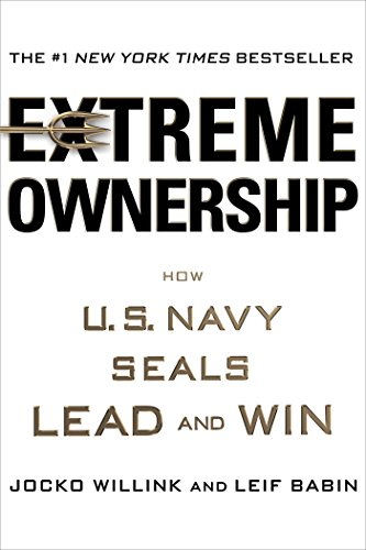 Extreme Ownership is available as a Kindle book, Hardcover & audio CD