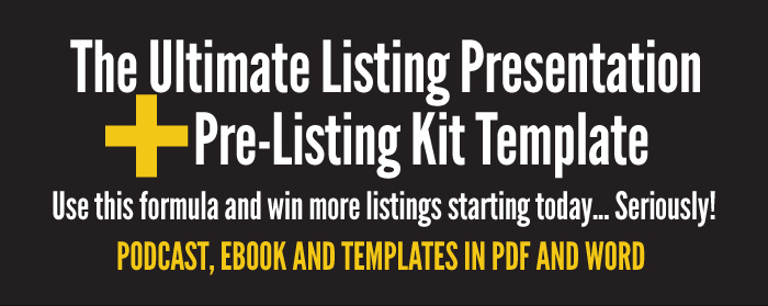 TAP How To Deliver The Ultimate Listing Presentation EVERY Time - Listing presentation template
