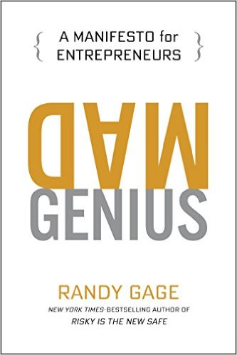 Mad Genius by Randy Gage will change the way you think about marketing your personal brand. Fascinating read!