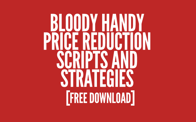 Real Estate Price Rdeuction Scripts & Downloads